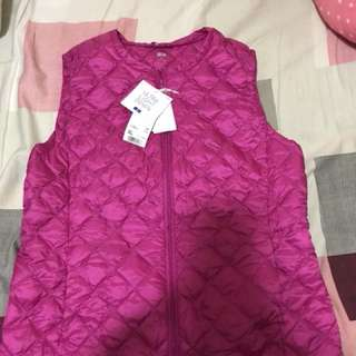 Uniqo down vest jacket 羽絨背心