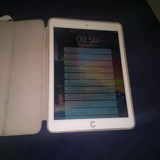 iPad air 2 wifi only 128gb gold no dus