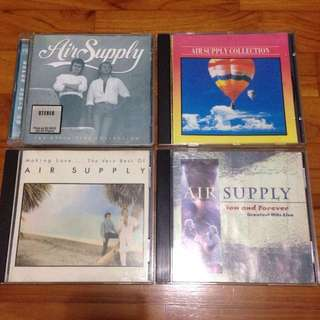 Air Supply CDs