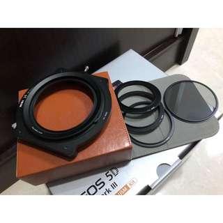 * Only used once, consider new ! * NiSi V5 Pro 100mm Filter Holder Kit