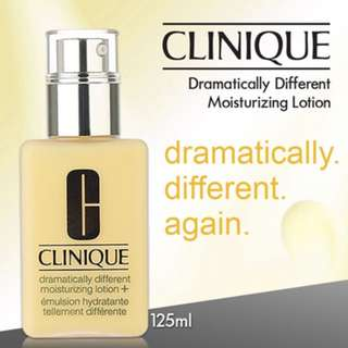 Authentic Clinique Dramatically Different Moisturizing Lotion