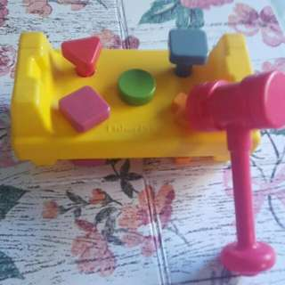 Fisher Price Shape Hammer Toys