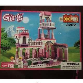 Brand New COGO brick toy dor girls