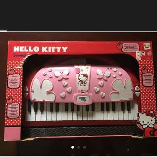 Authentic Hello Kitty Electronic Keyboard