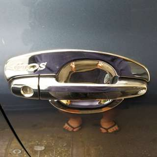 Vios NCP150 Chrome Door Handle Cover