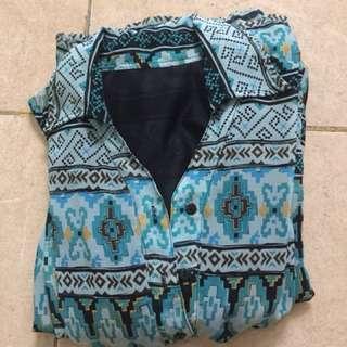 Dress Chiffon Tribal Tosca