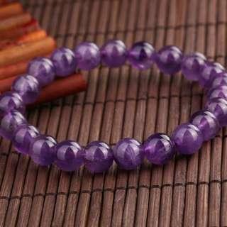 紫水晶手鏈 8mm