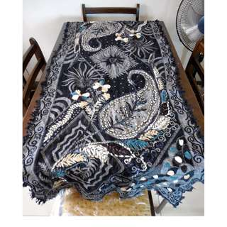 Ethnic Indian Embroidered Table Runner/Wall Tapestry/Decor