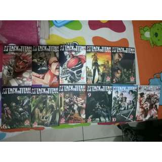 Attack On Titan 1-11