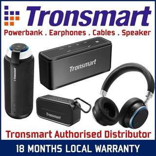 🎛 Tronsmart bluetooth Wireless speakers and headphones!