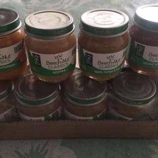 Beech Nut Baby Food Puree