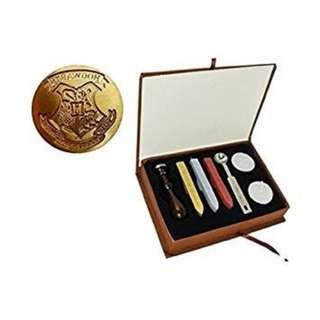 Harry Potter Hogwarts School Badge Wax Seal Set