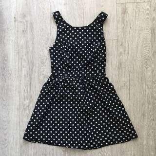 Polka Dot Pin-Up Dress