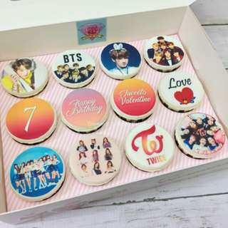 K-Pop Cupcakes