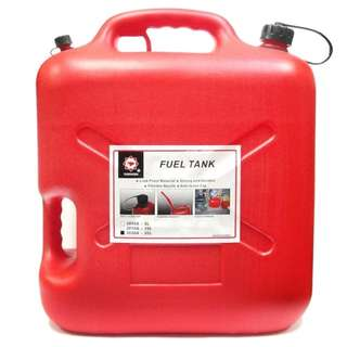 Plastic Fuel Tank 2020A - 20 Liter Capacity (Red)