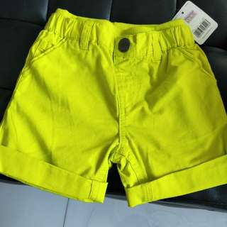 Brand new with tag Mothercare Shorts 6-9months