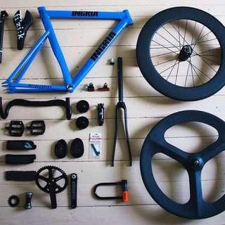 Fixed gear bike repairs