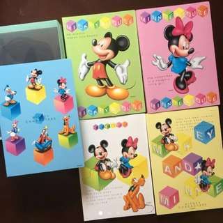 Disney Character Photo Album 5 in 1