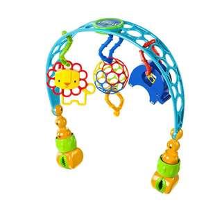 Stroller clip toys