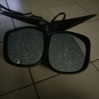 "Hiace 2"" lowering kit & Side mirror"