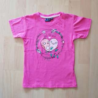 Pink Top [Size : 110/116]