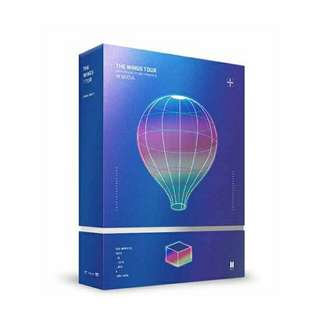 [PO] THE WINGS TOUR 2017 BTS LIVE TRILOGY EPISODE III IN SEOUL DVD REGULAR EDITION