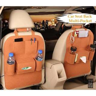 [FREE POSTAGE SM] Car Backseat Organizer Storage Bag, back seat holder accessory