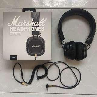 Marshall Major II Headphones [Reserved for Hullabaloo79]