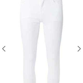Dorothy Perkins Harper White Skinny Jeans