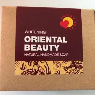 Oriental beauty handmade soap