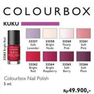 Oriflame Colourbox Nail Polish