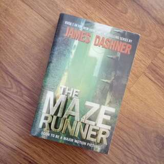 The Maze Runner (by James Dashner)