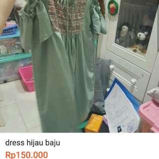 Baju hijau dress