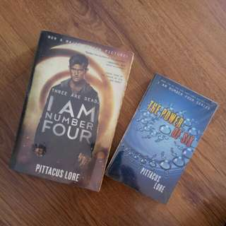 I am Number Four & The Power of Six (by Pittacus Lore)