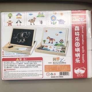 New in box mainan magnet anak2