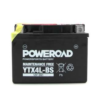 Poweroad YTX4L Power Sports Battery