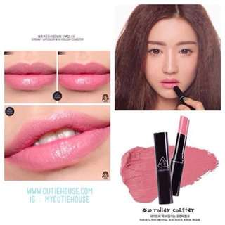 Authentic Brand new 3CE Stylenanda creamy lip colour