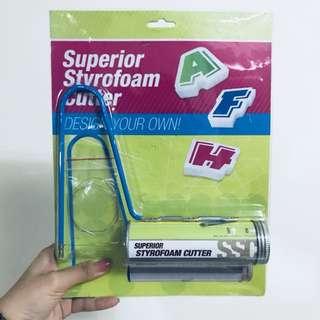 Superior styrofoam cutter