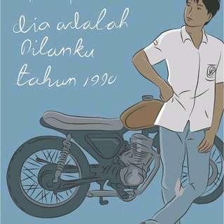 E-book Dilan, Dilan 2, Milea