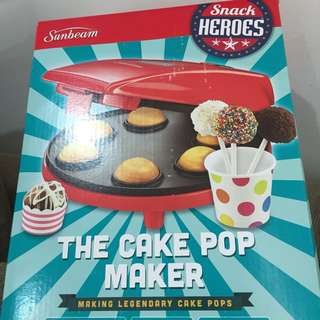 Sunbeam cake pop maker RRP $39.99