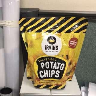 Irvins Salted Egg Potato Chips