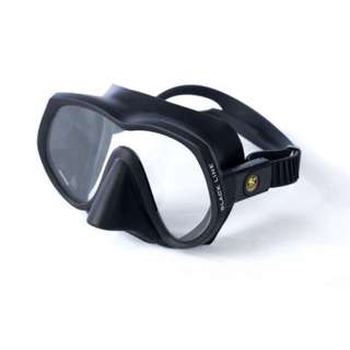 Poseidon Mask Blackline Frameless