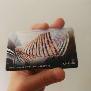 Changi Airport Gift Card ~ No value
