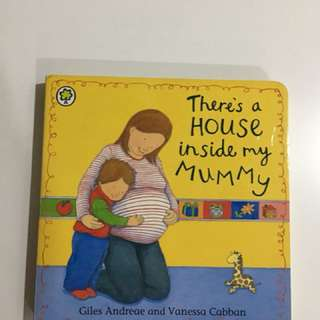 "Storybook - ""There is a House in my mummy tummy"""
