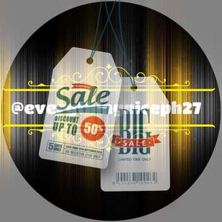 EVERYTHING MUST GO SALE!