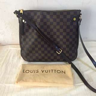 LV damier ebene Canvas Crossbody Shoulder Handbag