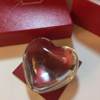 50% OFF Baccarat heart - great Valentine's present