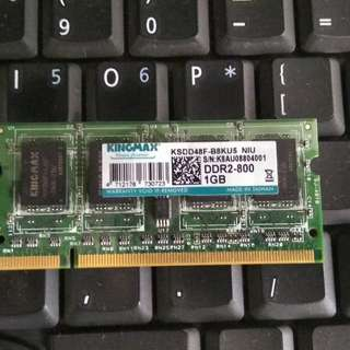 RAM Laptop SODIMM KINGMAX DDR2 1GB