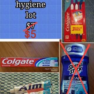 Hygiene lot