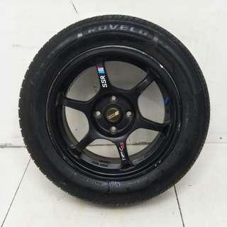 15 '' Sport Rim With Tyre 4x100 (SR813)